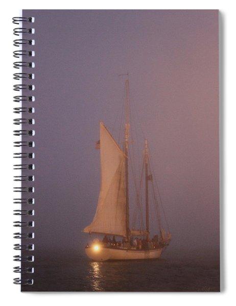 Night Passage Spiral Notebook