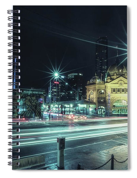 Night Ride Spiral Notebook