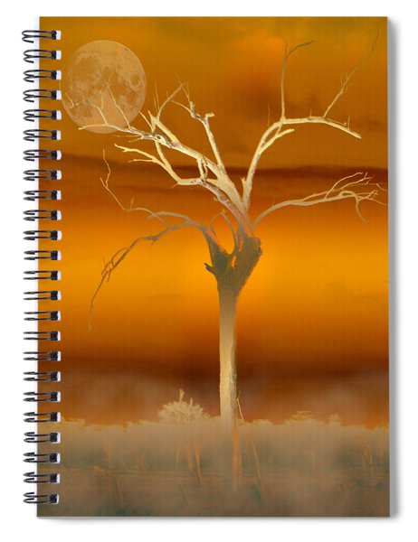 Night Shades Spiral Notebook