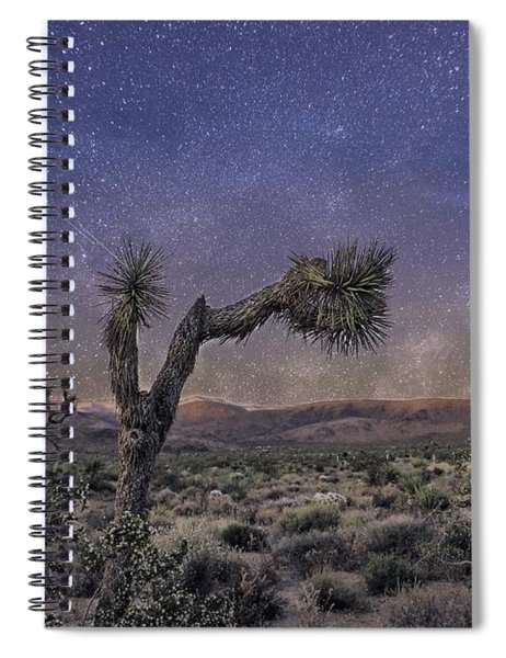 Spiral Notebook featuring the photograph Night Sky by Alison Frank