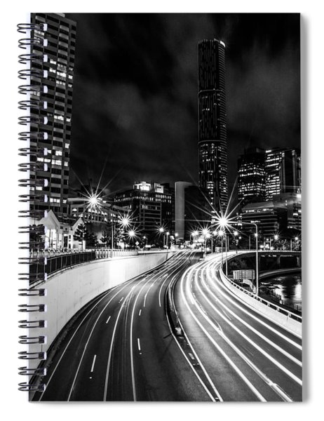 Night Time In The City  Spiral Notebook