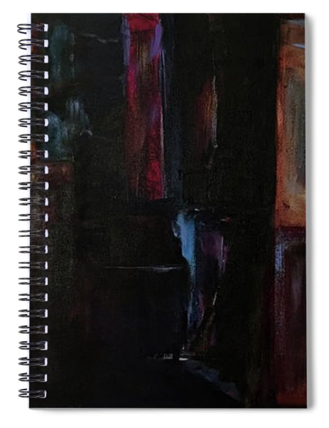 Night Visions Spiral Notebook