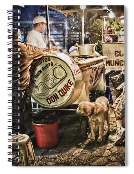 Nightlife In Guatemala Spiral Notebook