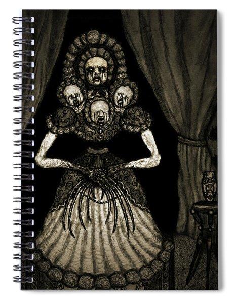 Nightmare Dolly - Artwork Spiral Notebook