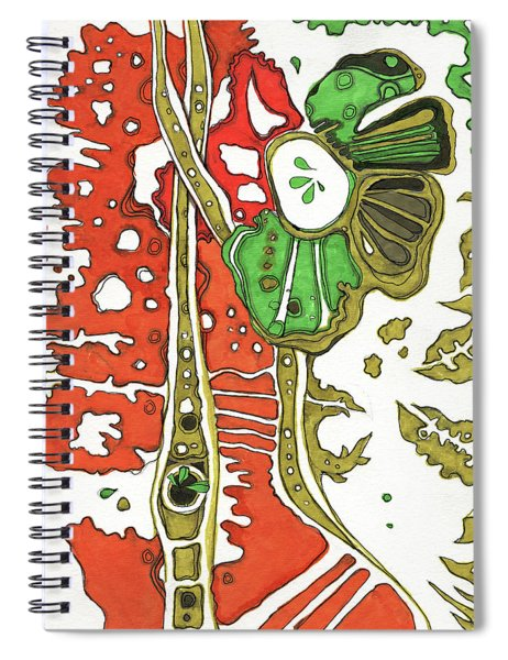 Nightmare In The Garden Spiral Notebook