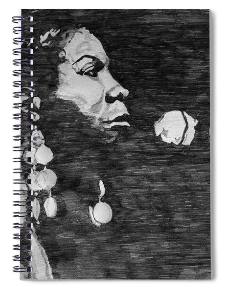 Nina Simone Spiral Notebook