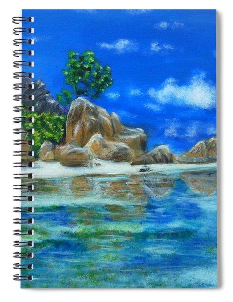 Nina's Beach Spiral Notebook