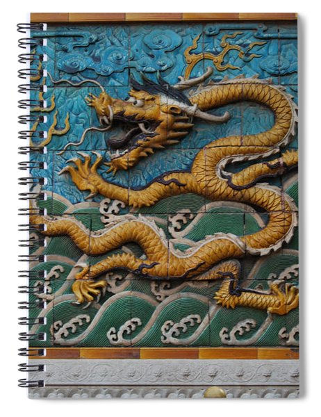 Nine-dragon Wall Spiral Notebook