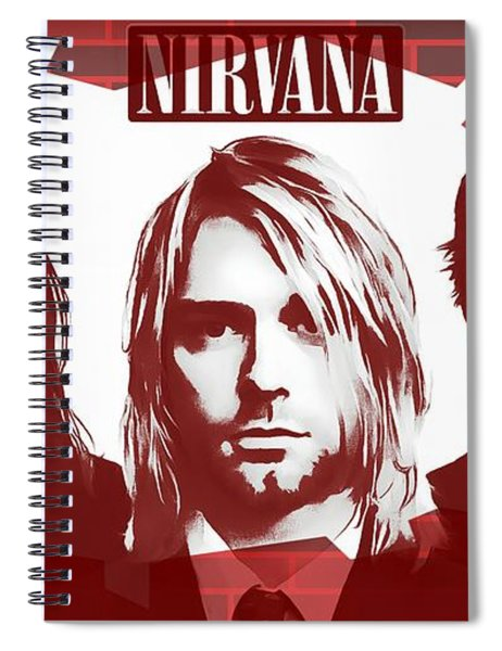 Nirvana Tribute Spiral Notebook