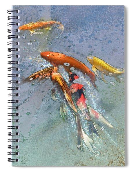 Nishikigoi Spiral Notebook