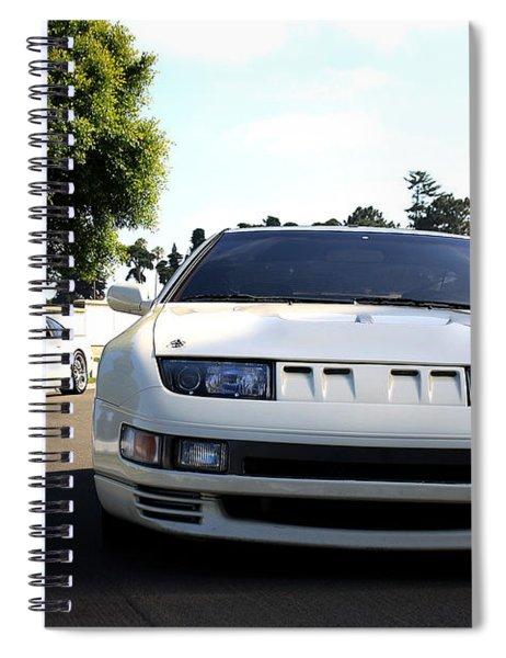 Nissan 300zx Spiral Notebook