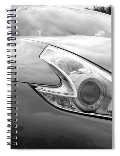 Nissan 370z Spiral Notebook