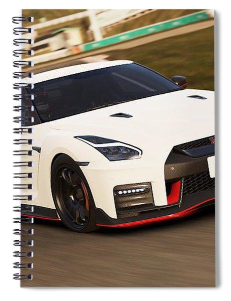 Nissan Gt-r Nismo - 02  Spiral Notebook