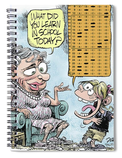No Child Left Behind Testing Spiral Notebook