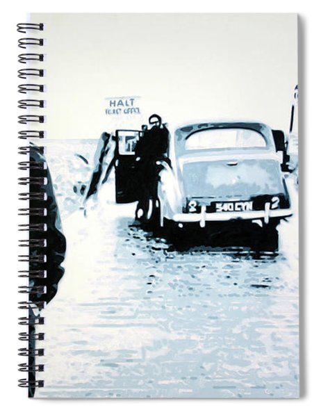 No Direction Home Spiral Notebook