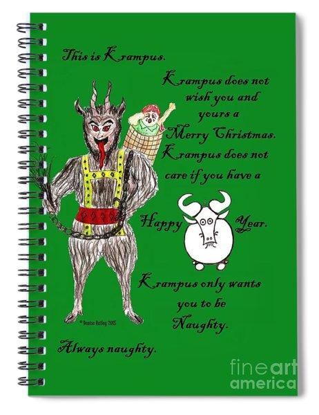 No Happy Gnu Year Spiral Notebook