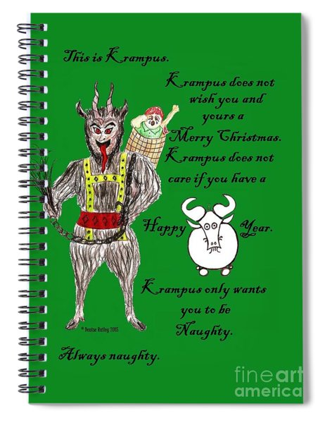 No Happy Gnu Year Spiral Notebook