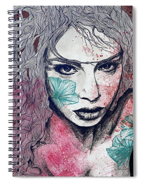 No Hope In Sight - Purple Spiral Notebook