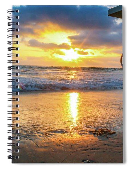 No Lifeguard On Duty Spiral Notebook