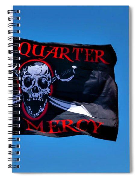 No Quarter No Mercy Spiral Notebook