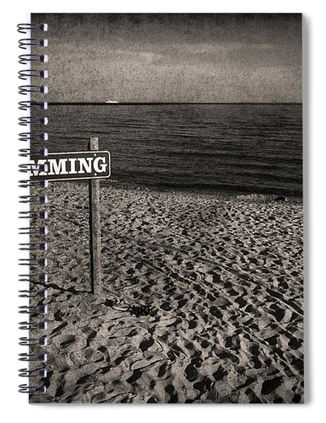 No Swimming Spiral Notebook