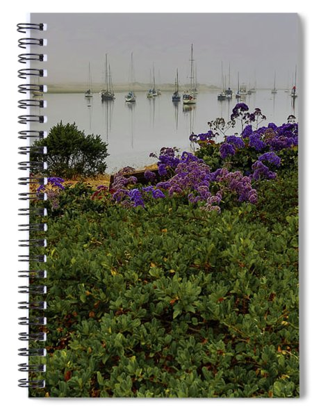 No Wind For Sailing Spiral Notebook