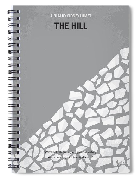 No091 My The Hill Minimal Movie Poster Spiral Notebook