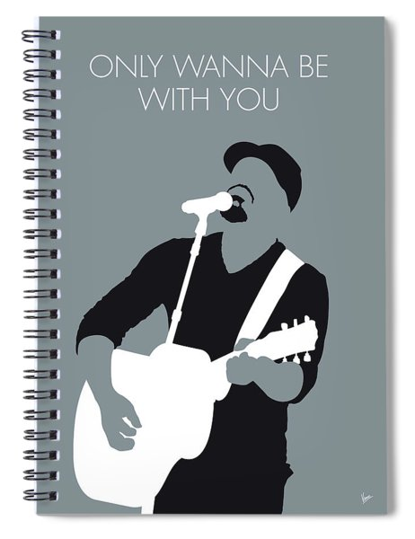 No177 My Hootie And The Blowfish Minimal Music Spiral Notebook