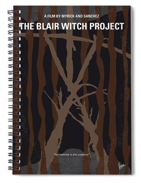 No476 My The Blair Witch Project Minimal Movie Poster Spiral Notebook