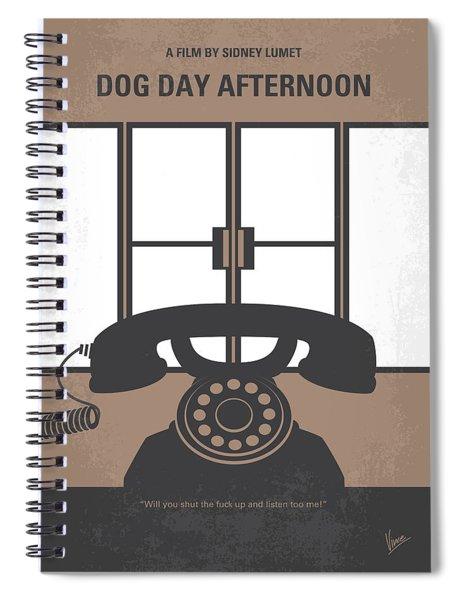No479 My Dog Day Afternoon Minimal Movie Poster Spiral Notebook