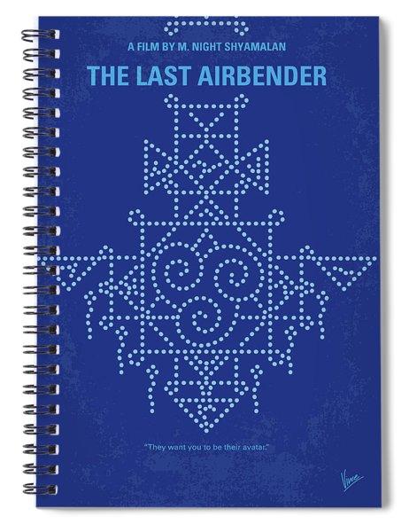 No764 My The Last Airbender Minimal Movie Poster Spiral Notebook