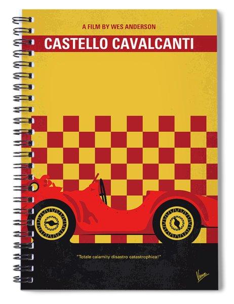 No927 My Castello Cavalcanti Minimal Movie Poster Spiral Notebook