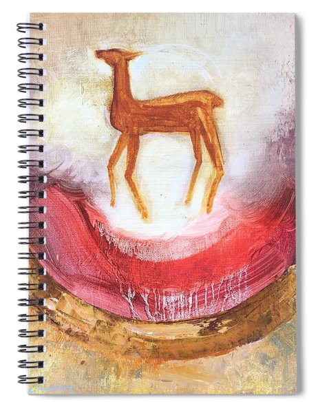 Noble Deer Spiral Notebook