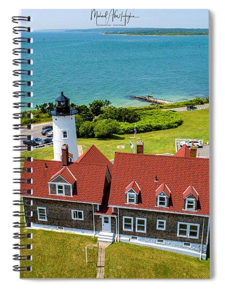 Nobska Light House  Spiral Notebook