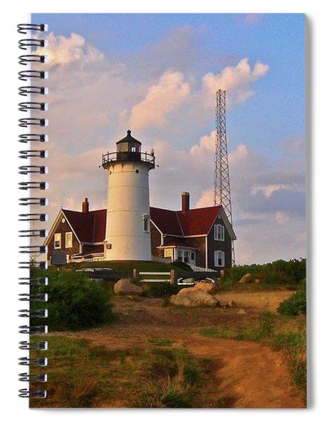 Nobska Lighthouse Spiral Notebook