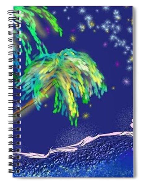 Noche Tropical Spiral Notebook