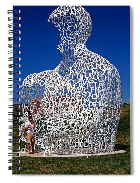 Nomade In Iowa Spiral Notebook