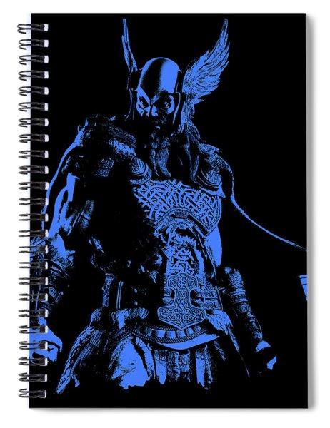 Nordic Warrior Spiral Notebook