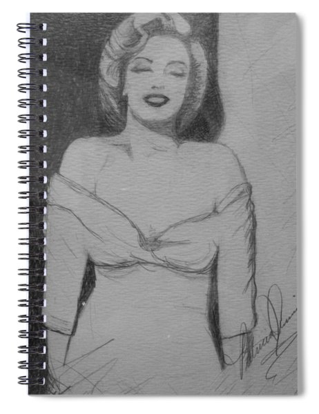 Norma Jean Spiral Notebook