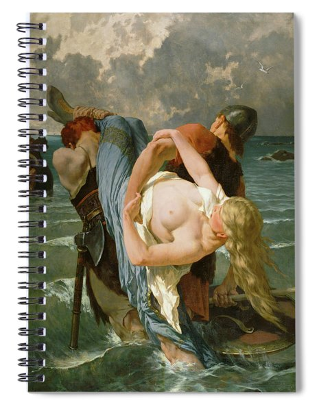 Norman Pirates Spiral Notebook