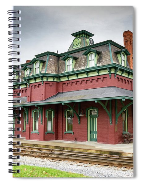 North Bennington Station Spiral Notebook