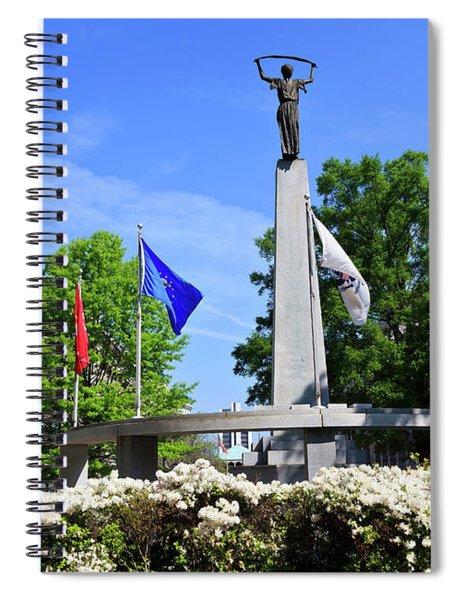 North Carolina Veterans Monument Spiral Notebook