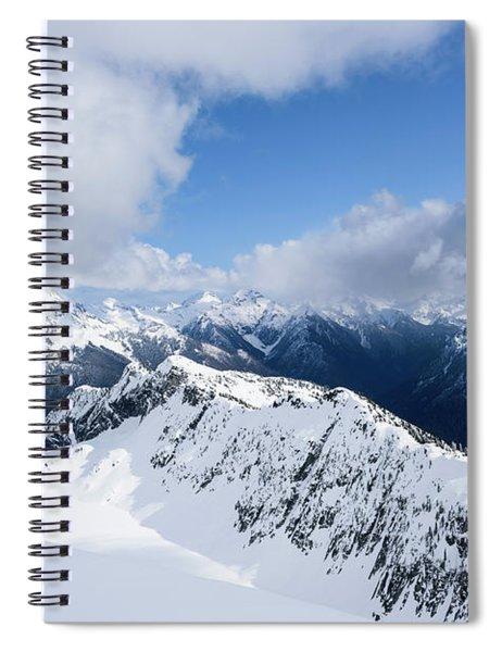 North Cascade Mountains Spiral Notebook