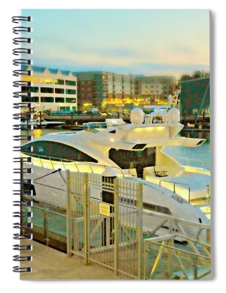 North Harbor Spiral Notebook
