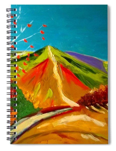 North Hill Malvern In Autumn Spiral Notebook