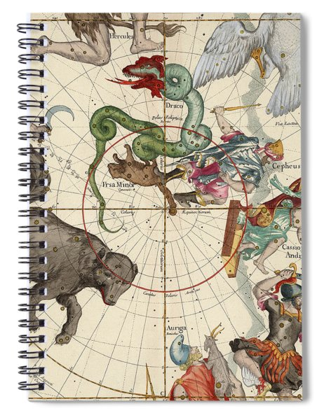 North Pole Spiral Notebook