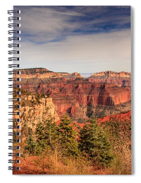 North Rim View Spiral Notebook