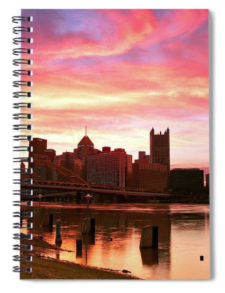 North Shore Sunrise Spiral Notebook