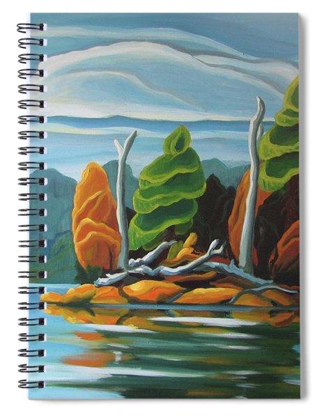 Northern Island Spiral Notebook