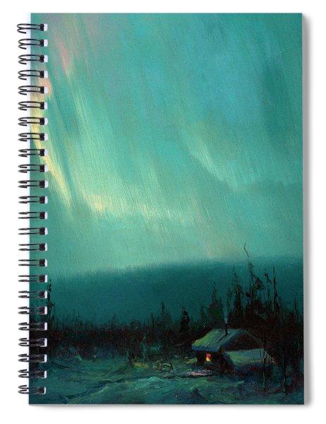 Northern Lights, Arctic Spiral Notebook